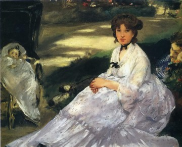 In the garden Eduard Manet Oil Paintings